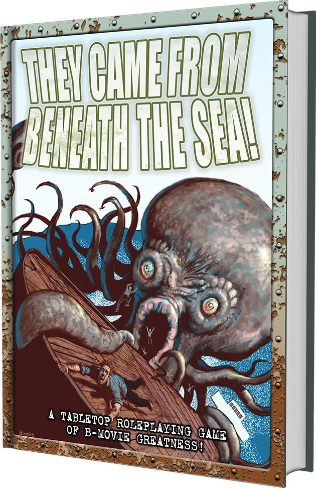 They Came from Beneath the Sea! -a tabletop roleplaying game