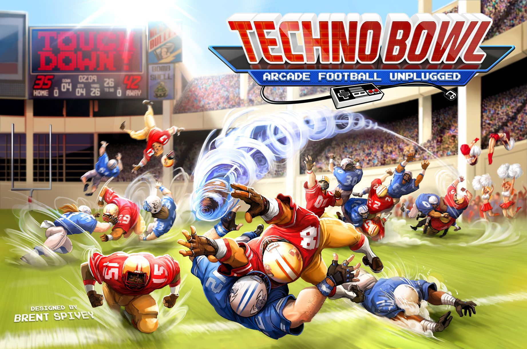 Techno Bowl: Arcade Football Unplugged