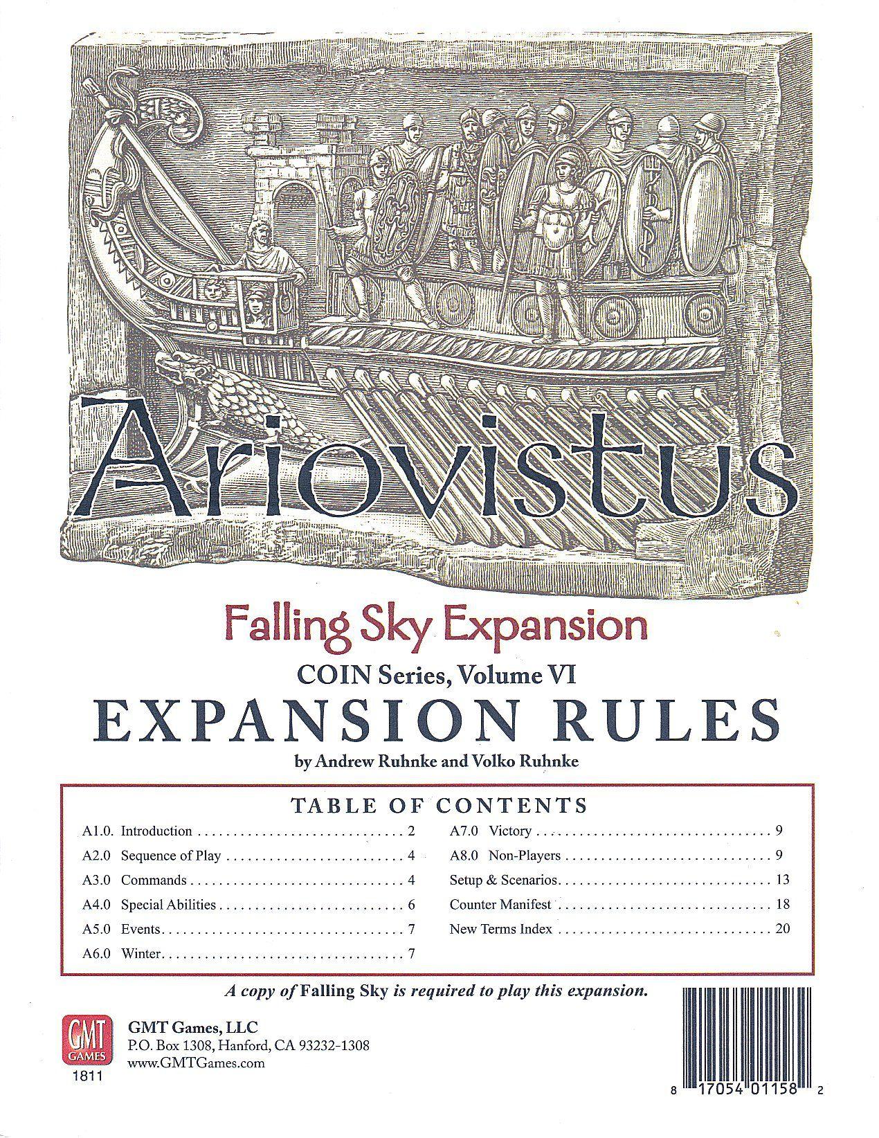 Falling Sky: The Gallic Revolt Against Caesar – Ariovistus