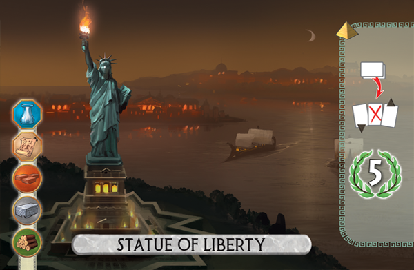 7 Wonders Duel: Statue of Liberty