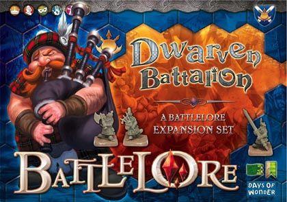 BattleLore: Dwarven Battalion Specialist Pack