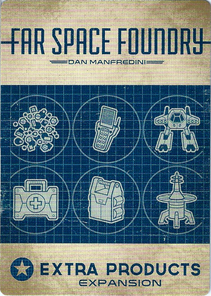 Far Space Foundry: Extra Products Expansion