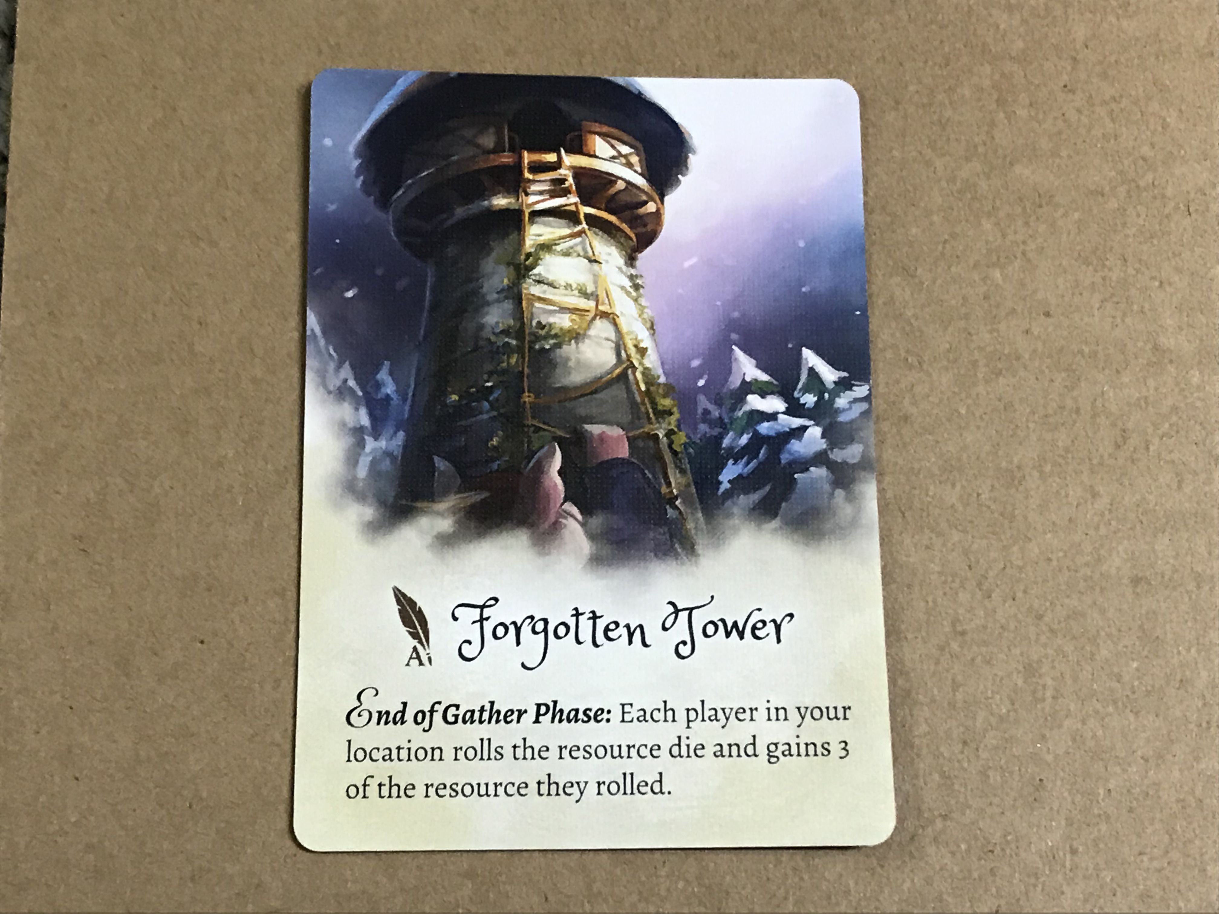 The Grimm Forest: Forgotten Tower Promo Card