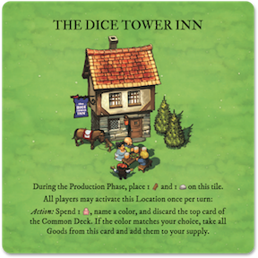 Imperial Settlers: The Dice Tower Inn