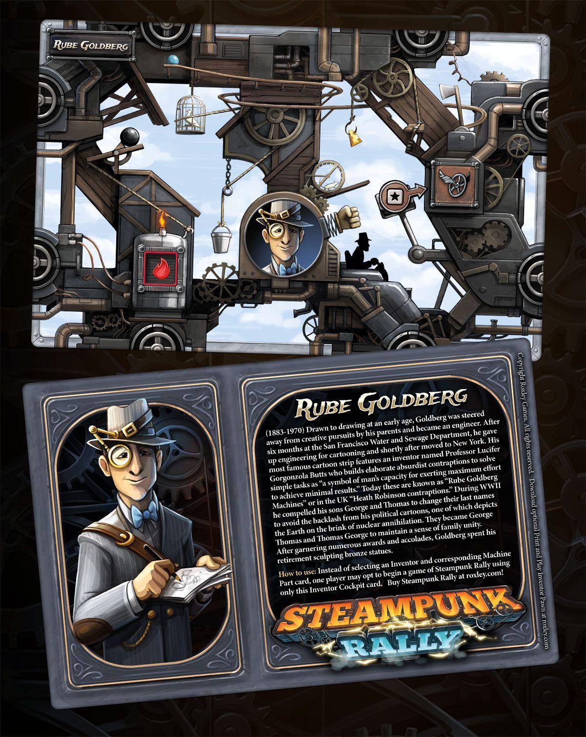 Steampunk Rally: Rube Goldberg