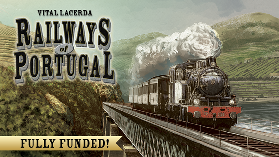 Vital Lacerda's Railways of Portugal, an ROTW expansion