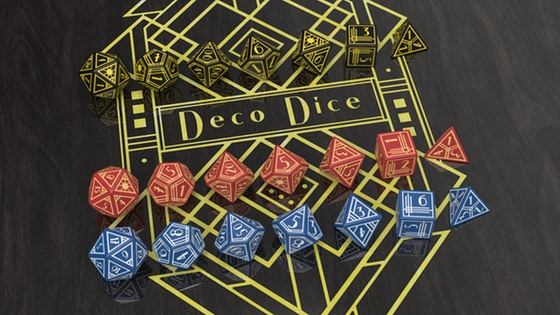 Deco Dice - A collection of elegant polyhedral dice