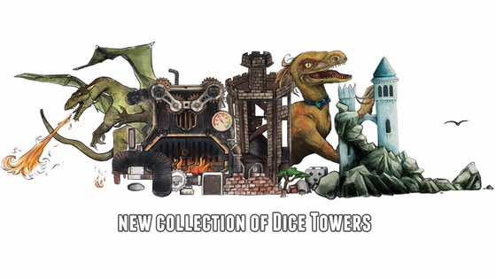 New Dice Towers 2019