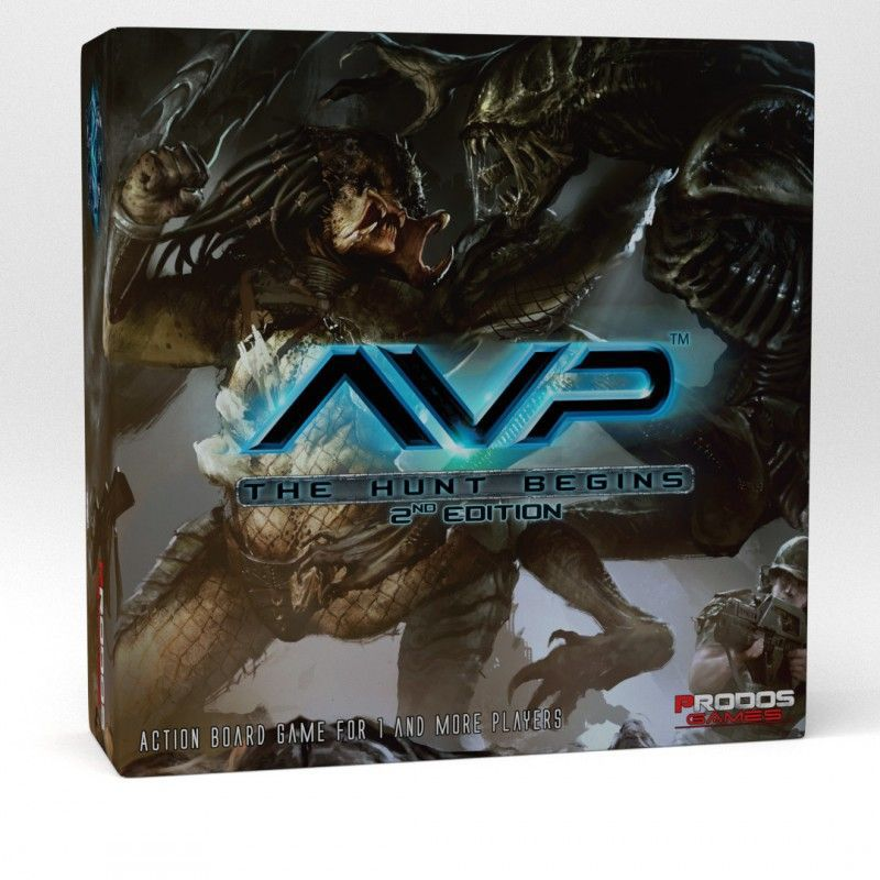 Alien vs Predator: The Hunt Begins (Second Edition)