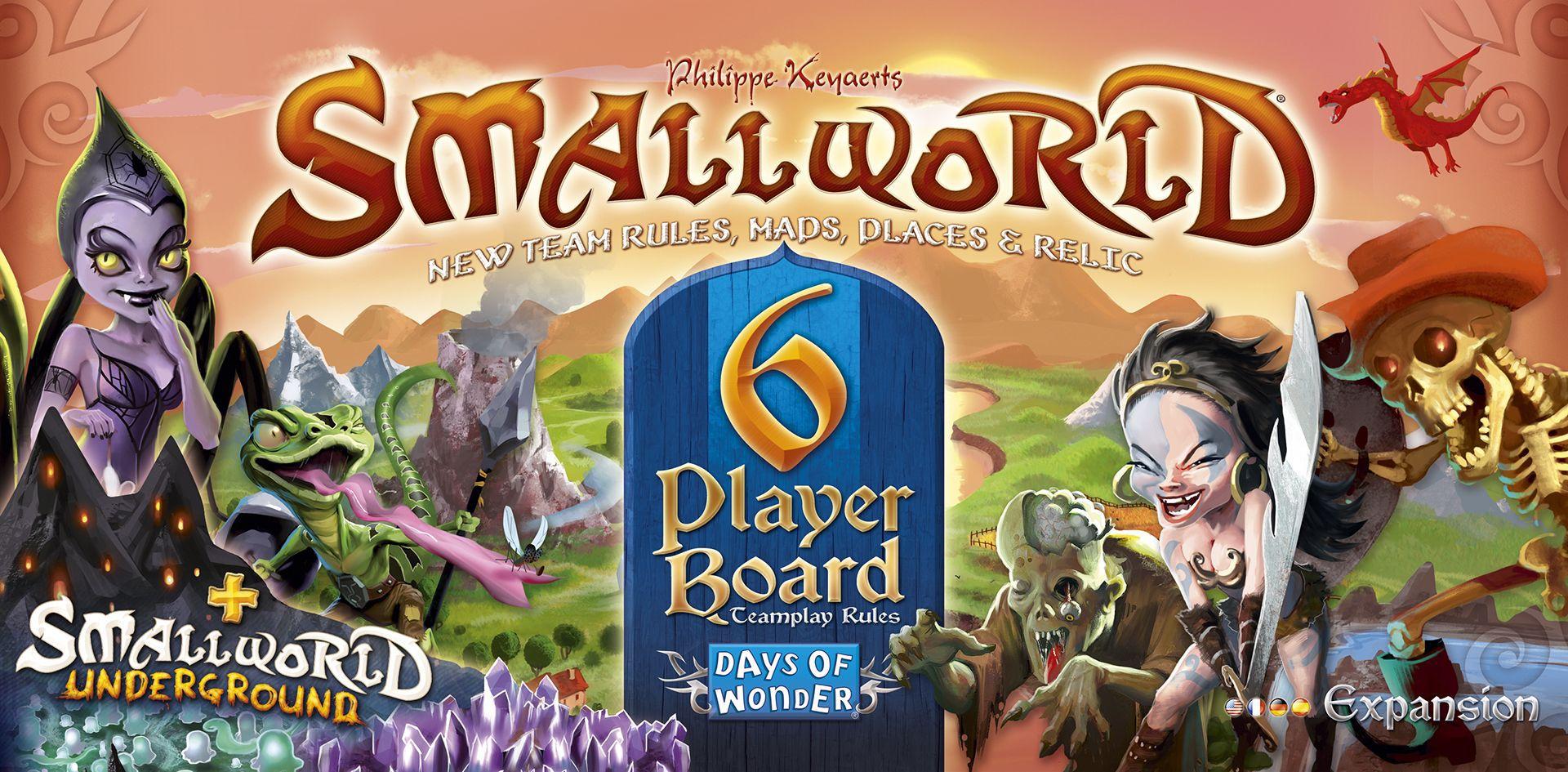 Small World: 6 Player Board