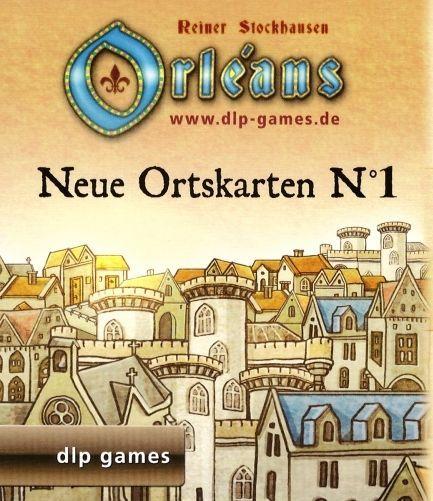 Orléans: Neue Ortskarten N°1
