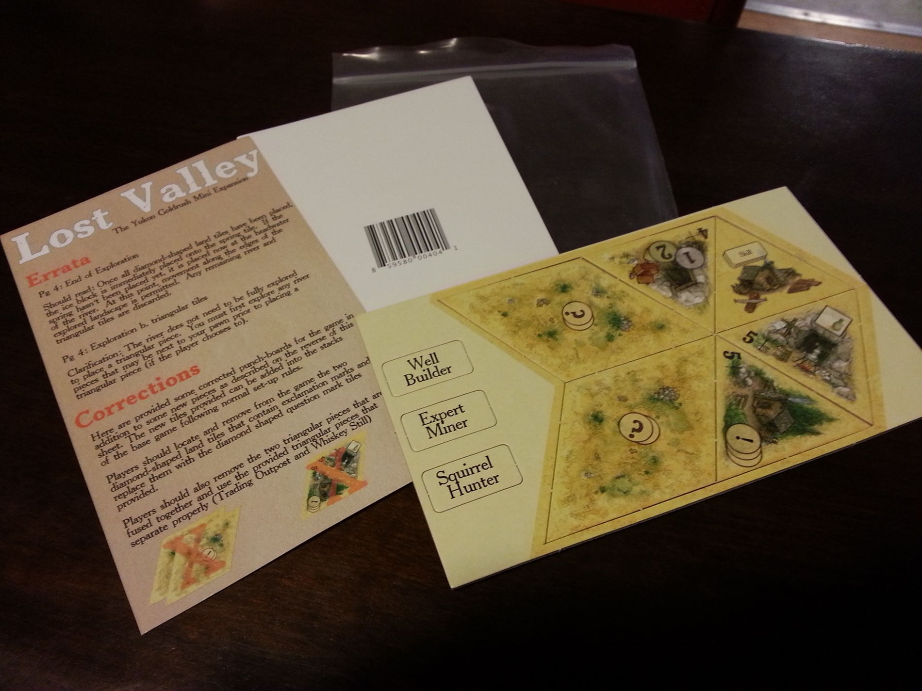 Lost Valley: The Yukon Mini-Expansion