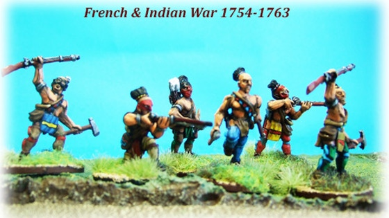 28mm - French & Indian War - WINTER - Coureur des Bois