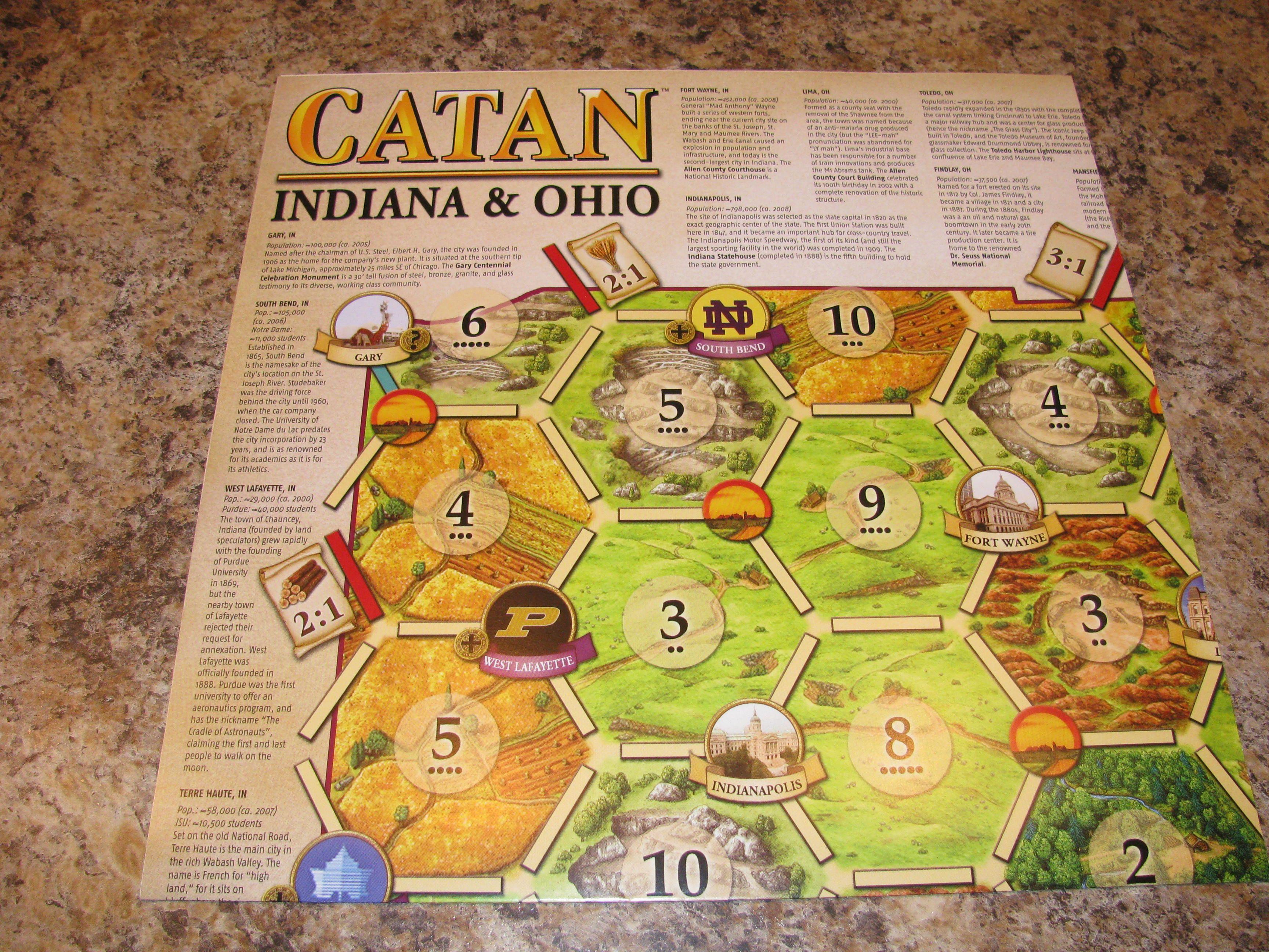Catan: Indiana & Ohio