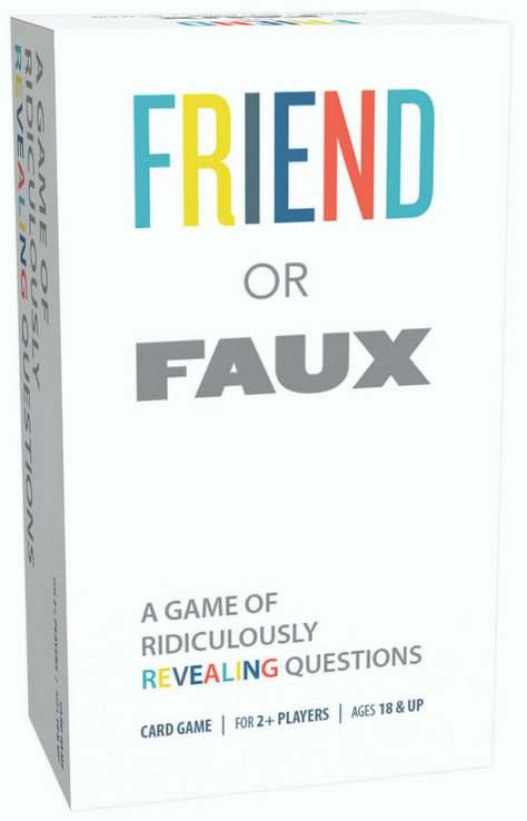 Friend or Faux: A Game of Ridiculously Revealing Questions