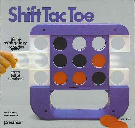 Shift Tac Toe