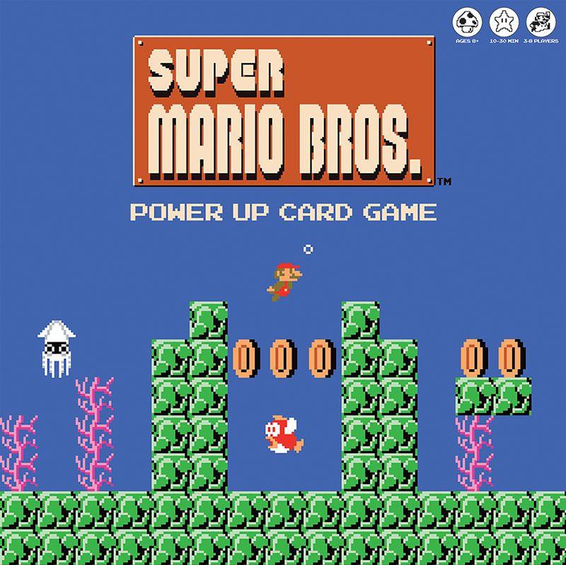 Super Mario Bros. Power Up Card Game: Underwater Edition