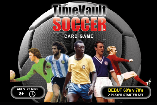 Time Vault Soccer: Football card game