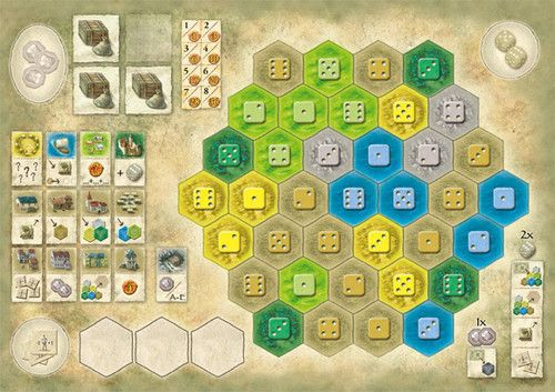 The Castles of Burgundy: 3rd Expansion – German Board Game Championship Board 2013