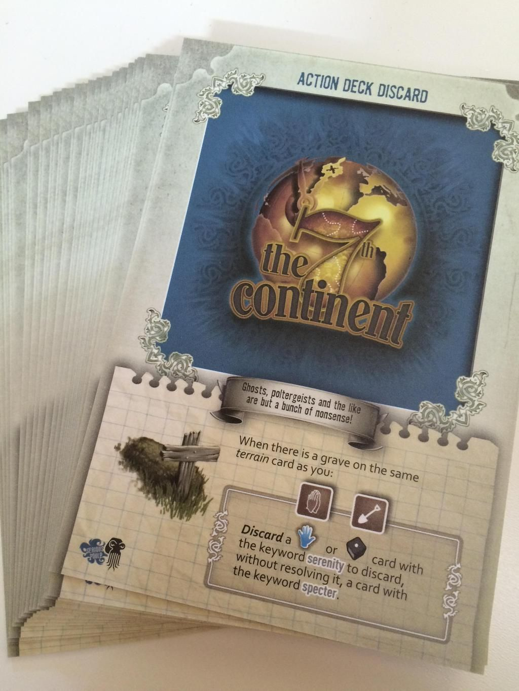 The 7th Continent: Action Deck Discard