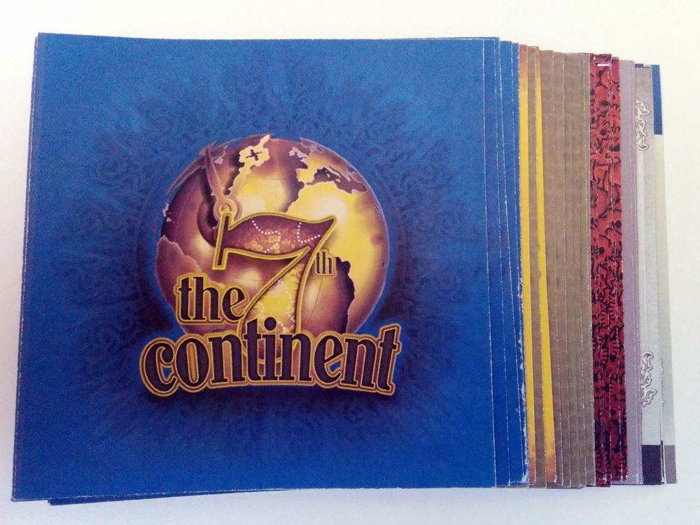 The 7th Continent: Print & Play Demo