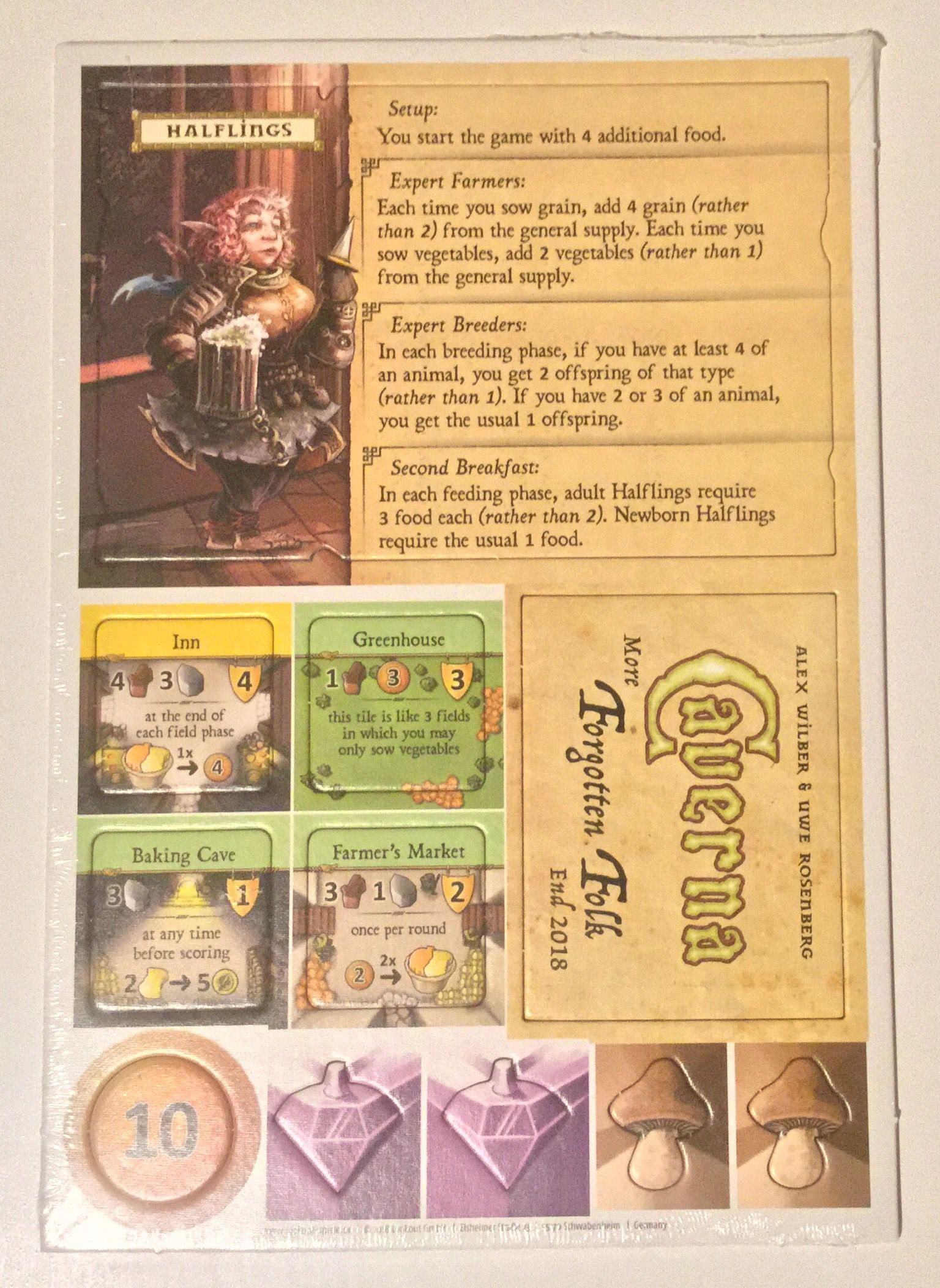 Caverna: The Forgotten Folk – Halflings promo
