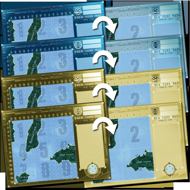 Captain Sonar: New York Map