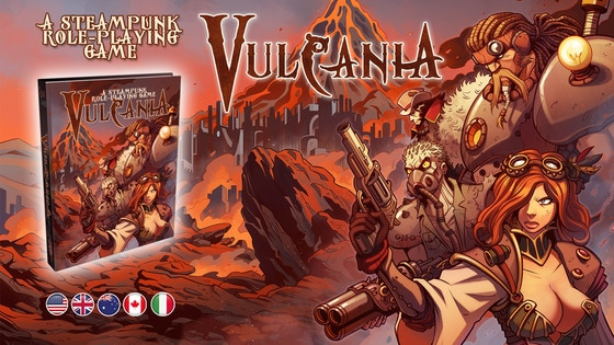 Vulcania Role-playing Game