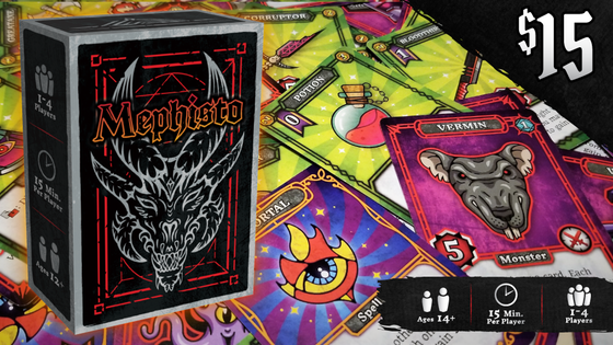 Mephisto: The Card Game