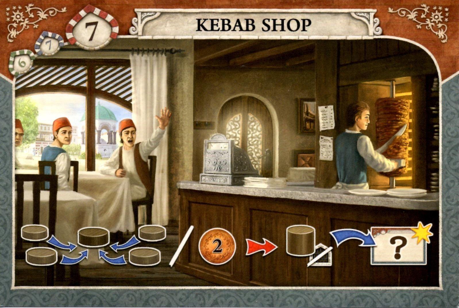 Istanbul: Kebab Shop Mini Expansion