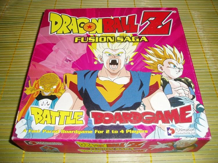 Dragon Ball Z: Fusion Saga Battle Boardgame