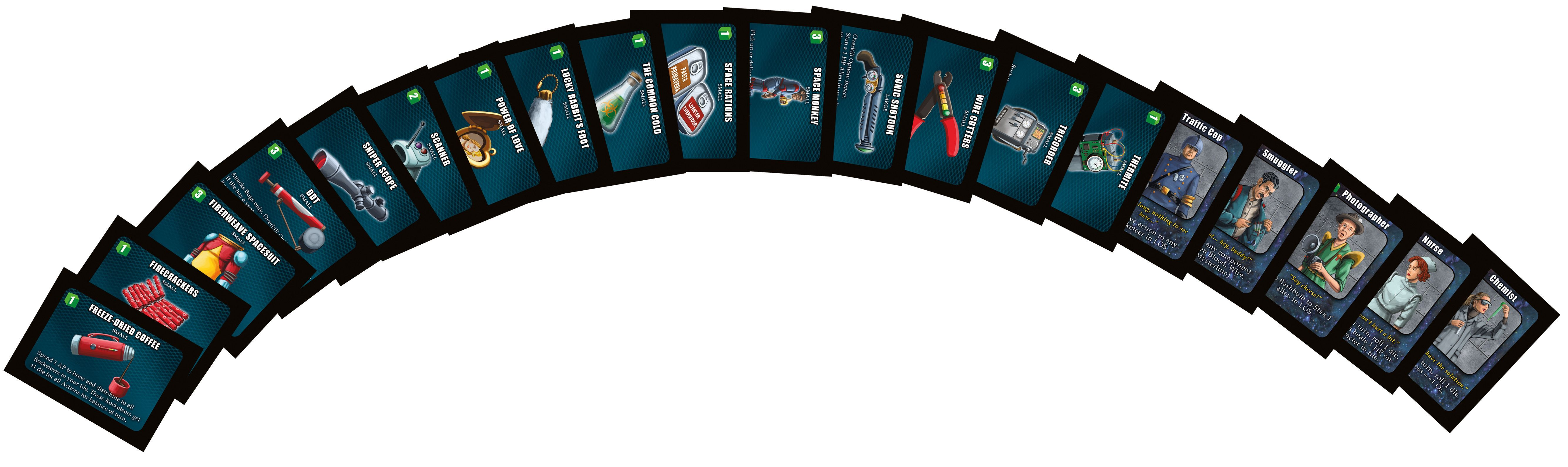 Space Cadets: Away Missions – Promo Cards