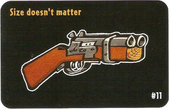 Ca$h 'n Gun$: Size Doesn't Matter