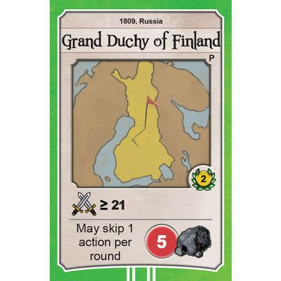 Nations: Grand Duchy of Finland promo card