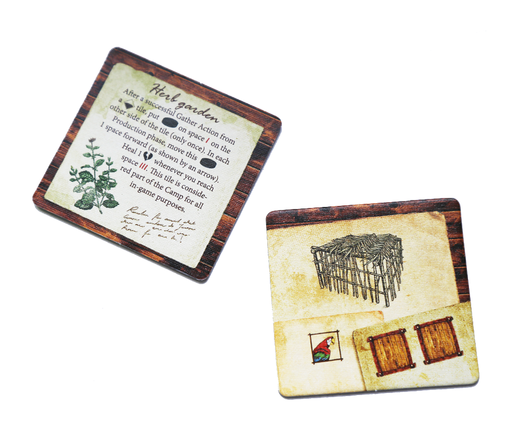 Robinson Crusoe: Adventure on the Cursed Island – Herb garden and Pen