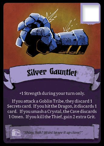 Vast: The Crystal Caverns – Silver Gauntlet Promo Card