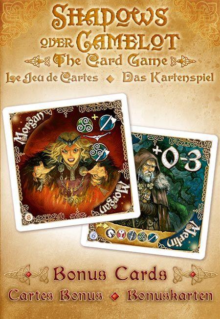 Shadows over Camelot: The Card Game – Merlin & Morgan Promo cards