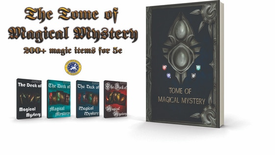 The Tome of Magical Mystery (5E Compatible)