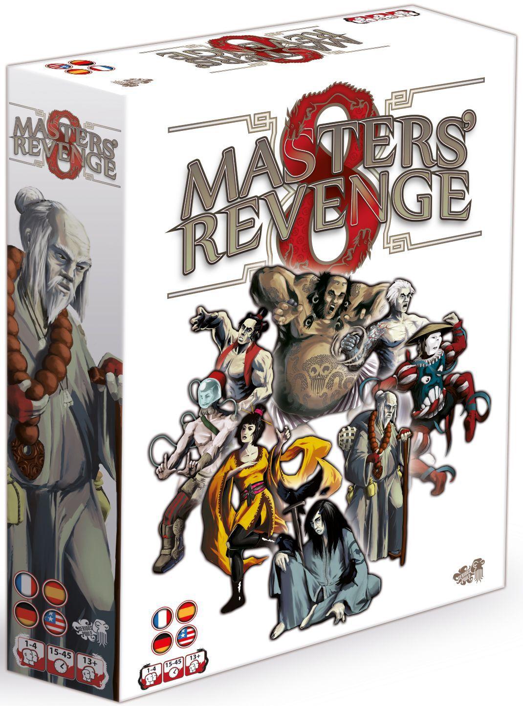 8 Masters' Revenge