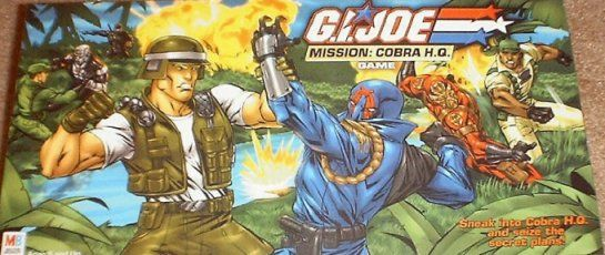 G.I. Joe Mission: Cobra H.Q. Game
