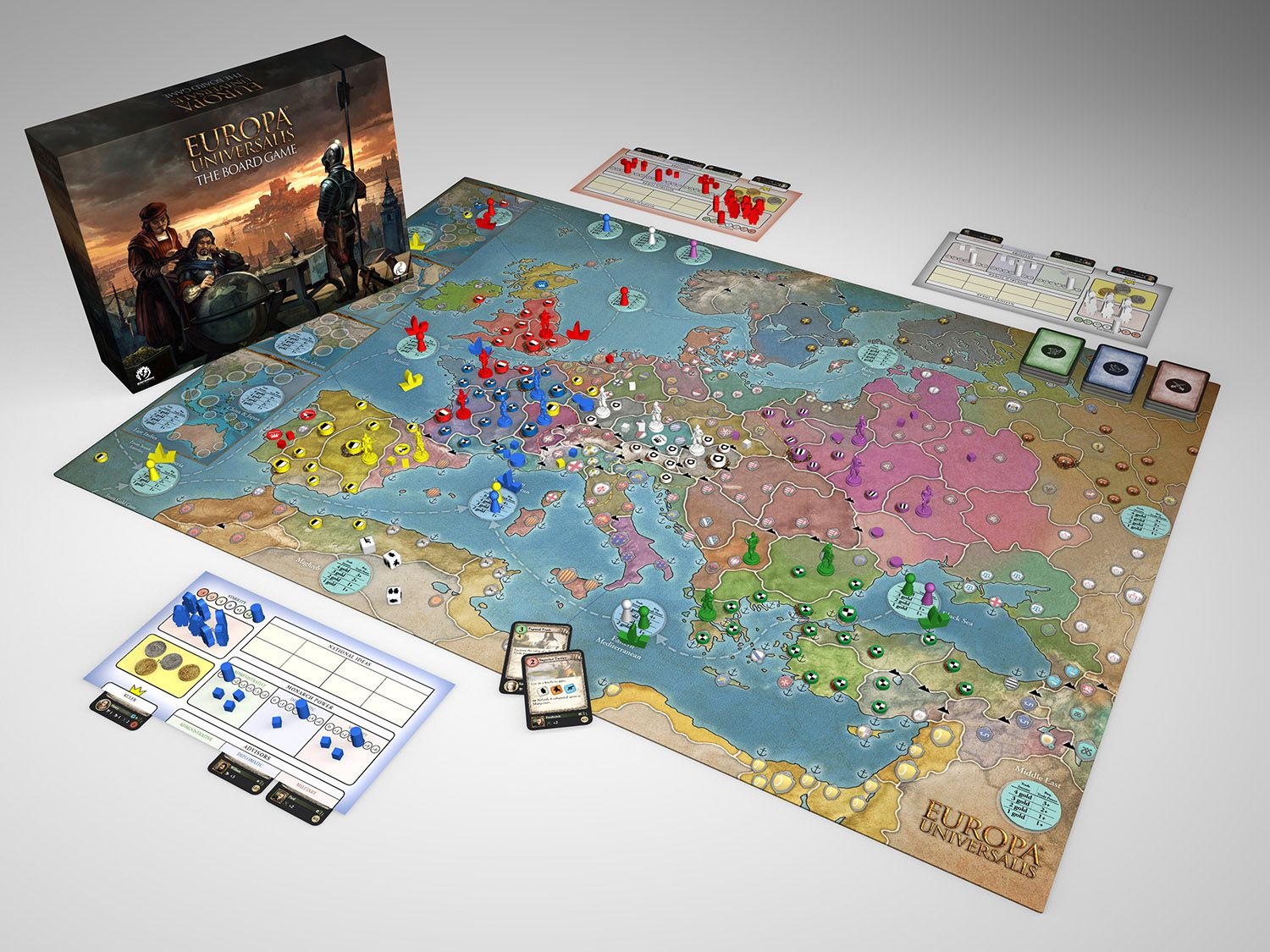 Europa Universalis: The Board Game