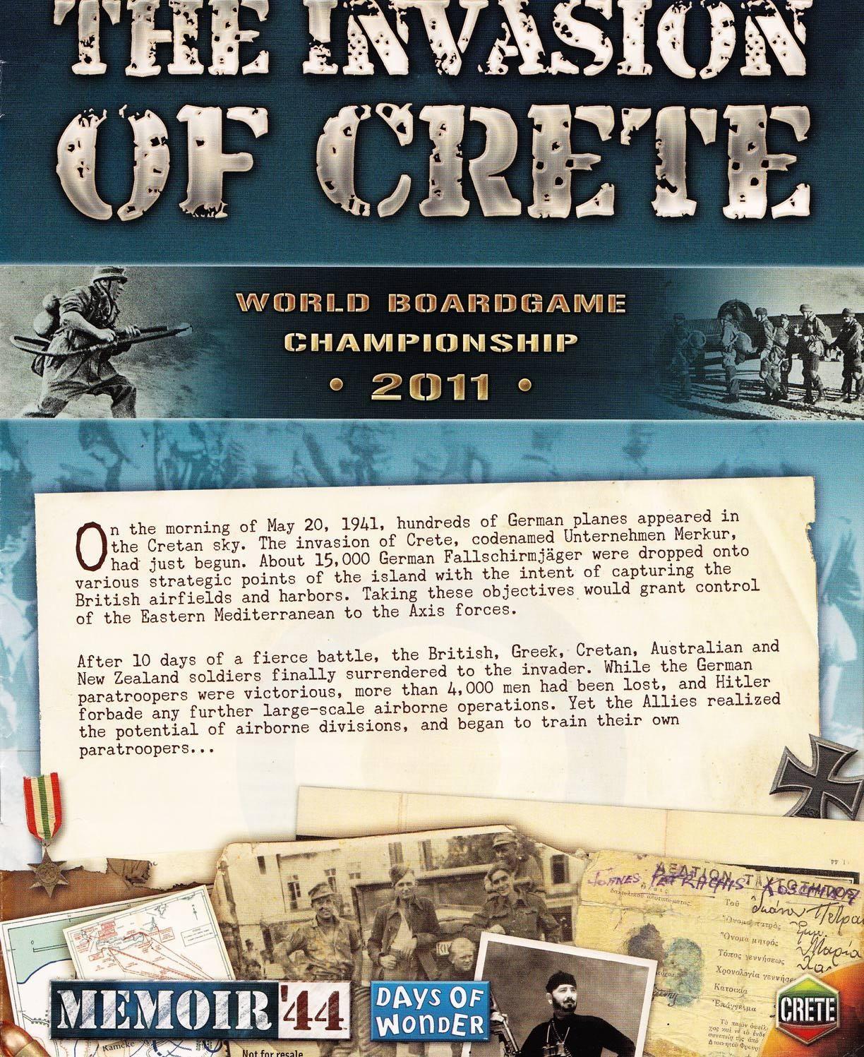 Memoir '44: The Invasion of Crete