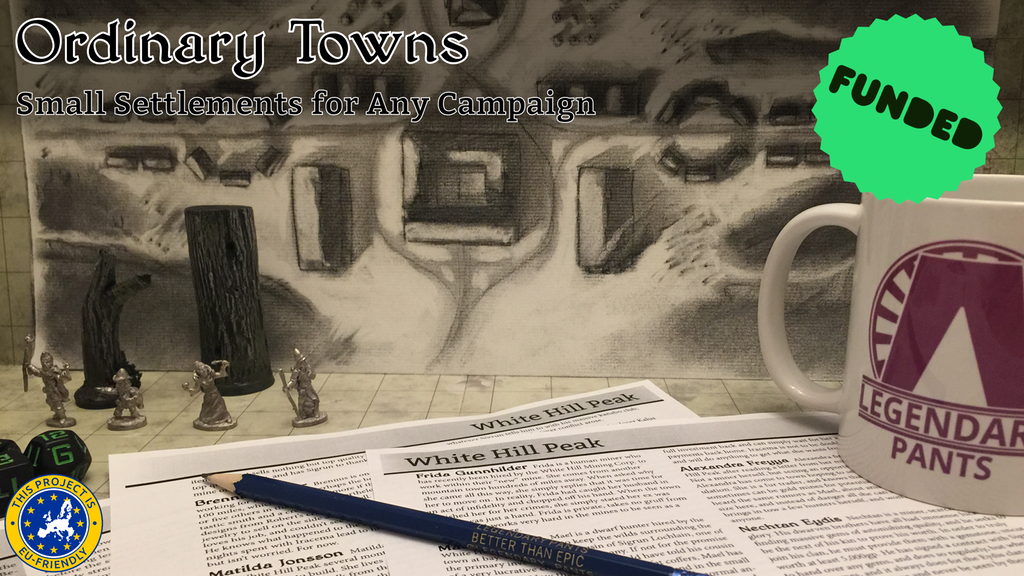 Ordinary Towns: Small Settlements for Any Campaign