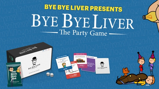 Bye Bye Liver: The Party Game
