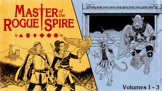 Master of the Rogue Spire: A Classic Fantasy RPG