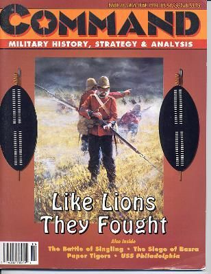 Like Lions They Fought