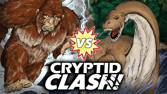 Cryptid Clash!