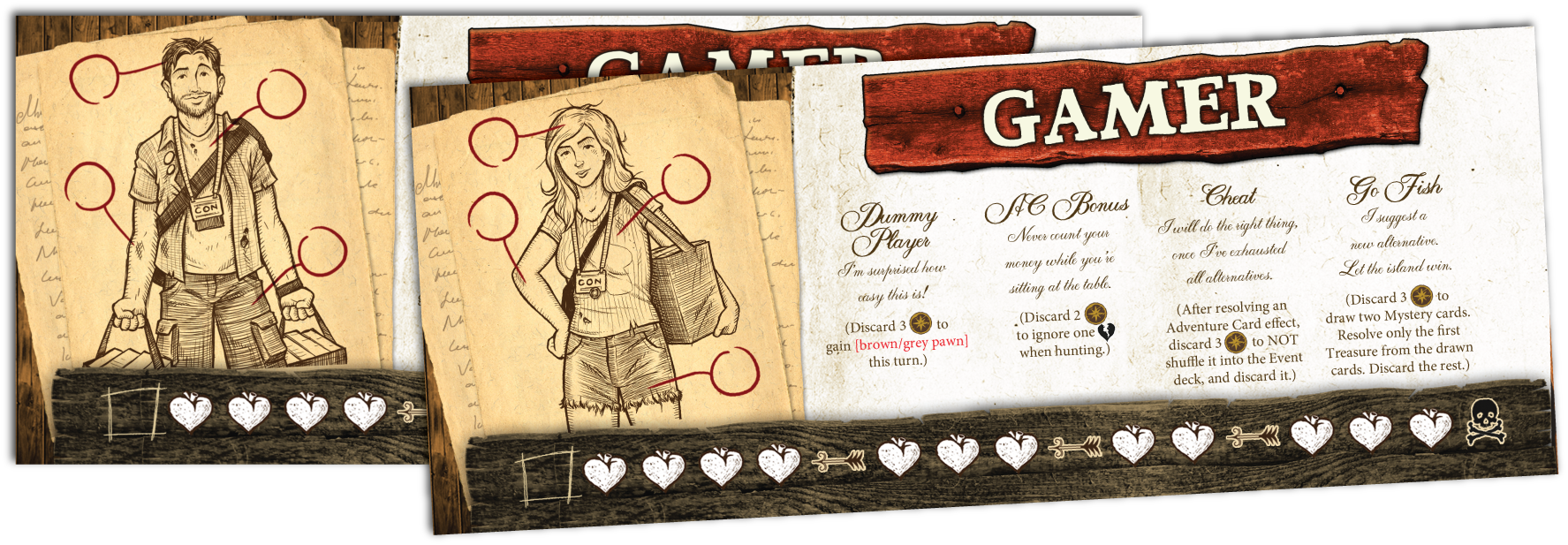 Robinson Crusoe: Adventures on the Cursed Island – Gamer Character