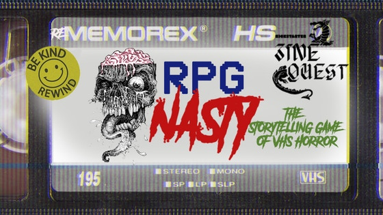 RPG NASTY: AN RPG ZINE-STYLE GAME OF 80s VHS HORROR