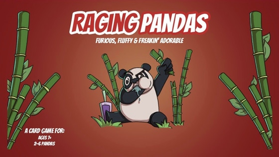 RAGING PANDAS: A Panda Approved Card Game